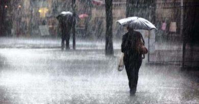पाँच दिनसम्म देशभरी भारी वर्षा हुने सम्भावना