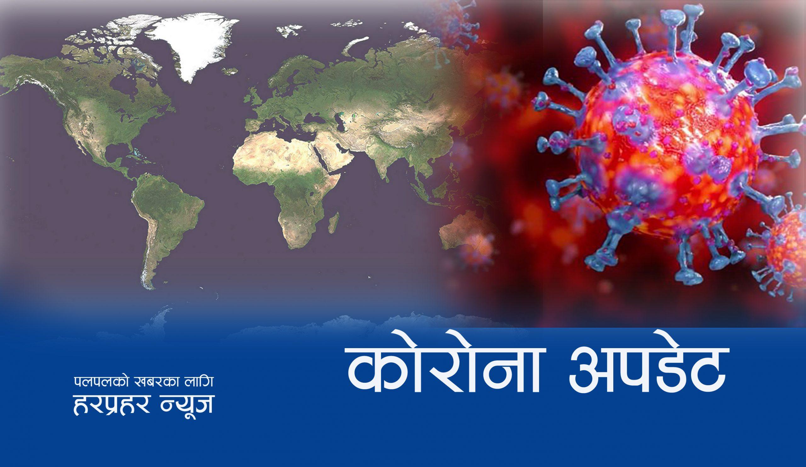 नेपालमा कोरोनाबाट थप २१ जनाको मृत्यु,मृतक संख्या ८१२ पुग्यो