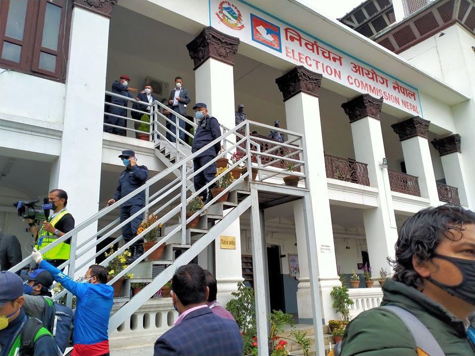 निर्वाचन आयोगमा दर्ता भयो 'नेकपा (एमाले)'