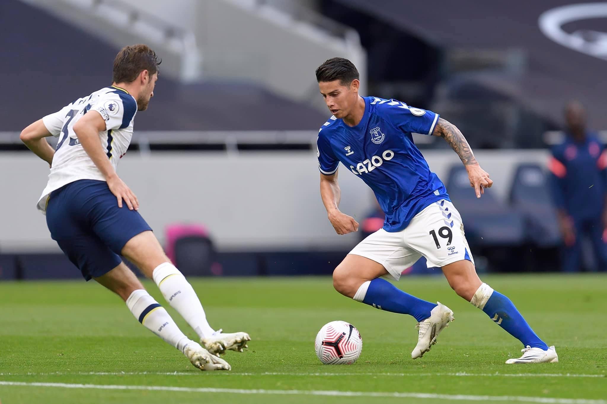 इंग्लिस प्रिमियर लिग फुटबलमा एभर्टनले टोटनह्यामलाई १–० ले हरायो
