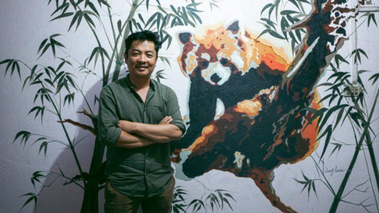 कलाकार दयाहाङ राई रेड पाण्डा संरक्षण दूतमा नियुक्त