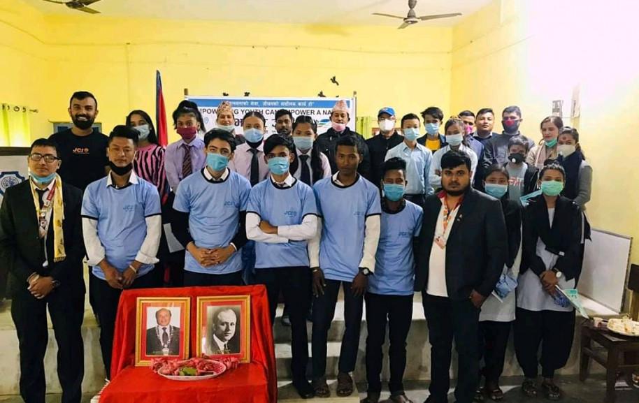 भद्रपुर जेसीजद्वारा हाजीरी जवाफ प्रतियोगिता सम्पन्न