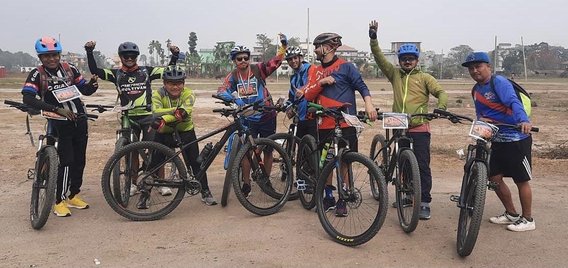जेनियम साइक्लिङ प्रतियोगिताको विजेता बने पाँचथरका निर्दल