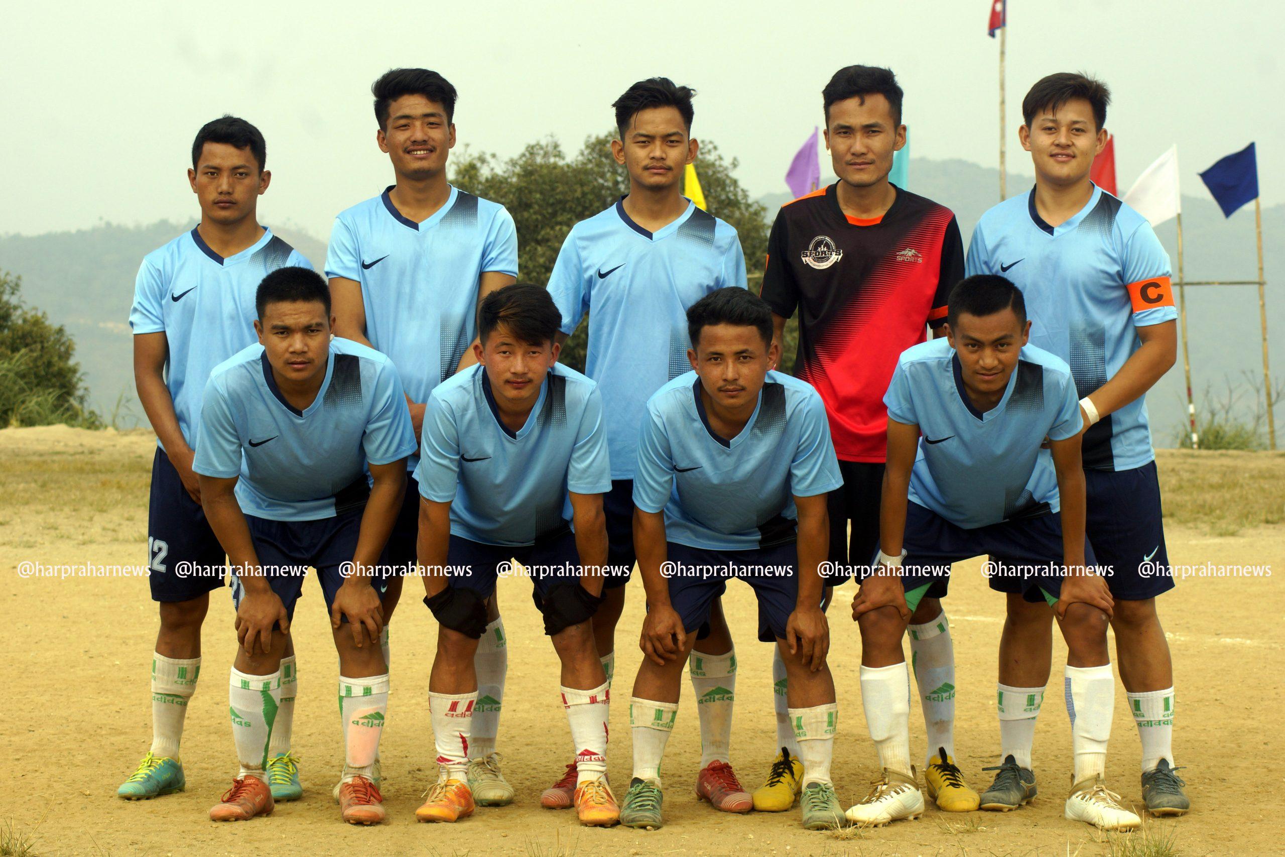माङसेबुङमा सञ्चालित फुटबल प्रतियोगिताको उपाधी वडा नं. ३ लाई