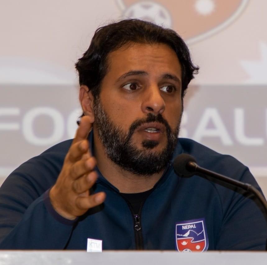 नेपाली राष्ट्रिय फुटबल टिमका मुख्य प्रशिक्षक मोहम्मद अलमुताइरीद्वारा राजीनामा घोषणा